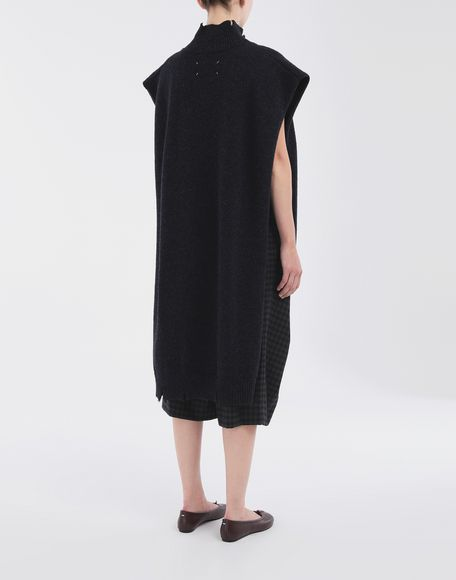 MAISON MARGIELA Destroyed wool tabard Stole Woman e