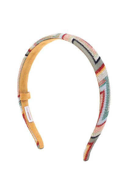 MISSONI KIDS Head band Light pink Woman - Back