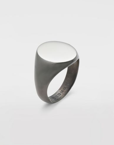 JEWELRY  Silver signet ring  Silver