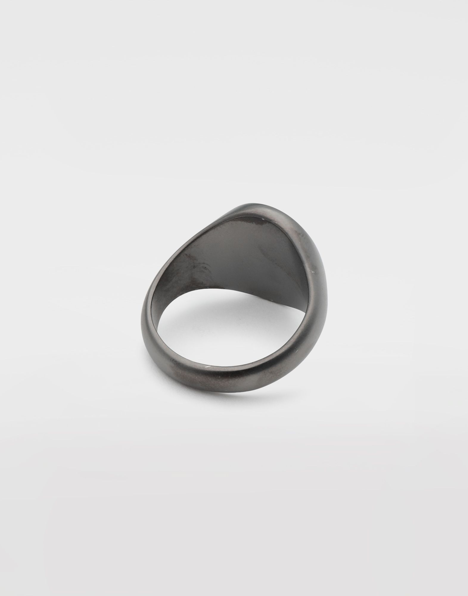MAISON MARGIELA Silver signet ring Ring Man e