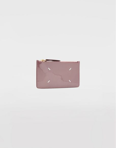 MAISON MARGIELA Patent leather card-holder Wallets Woman r