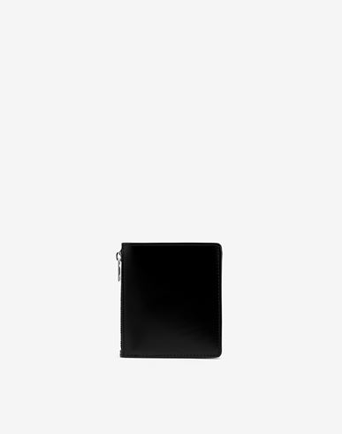 ACCESSORIES Small bi-fold calfskin wallet Black