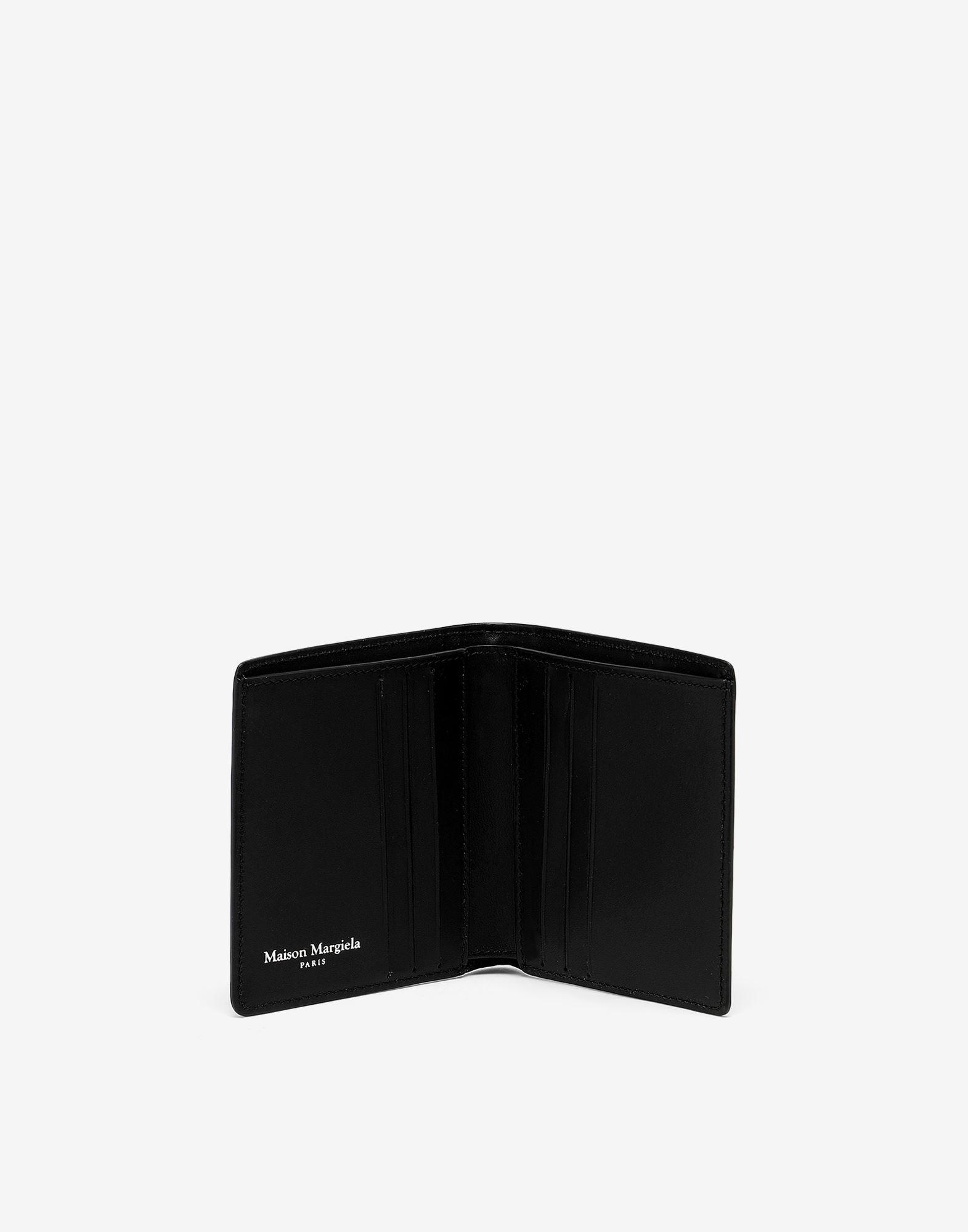 MAISON MARGIELA Small bi-fold calfskin wallet Wallet Man d