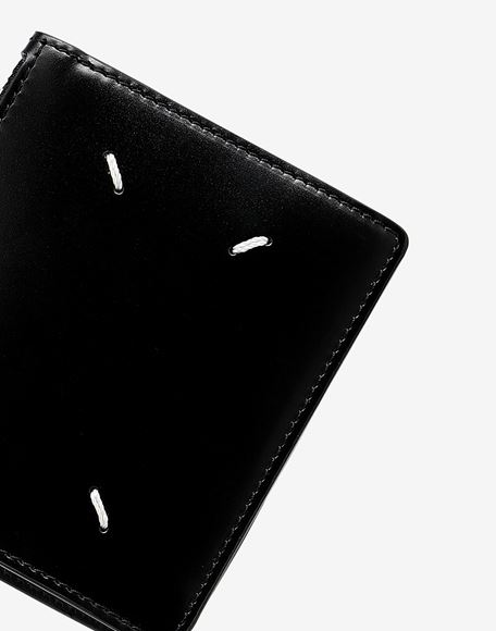 MAISON MARGIELA Small bi-fold calfskin wallet Wallet Man a
