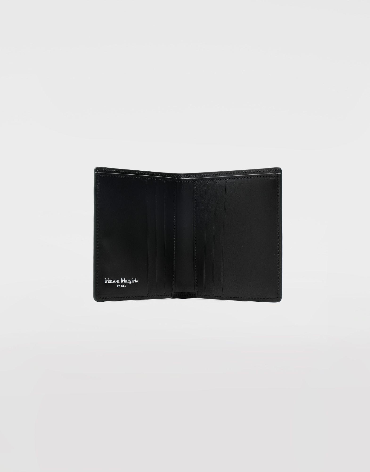 MAISON MARGIELA Small bi-fold calfskin wallet Wallets Man d