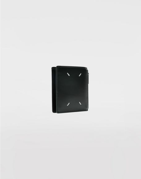 MAISON MARGIELA Small bi-fold calfskin wallet Wallets Man r