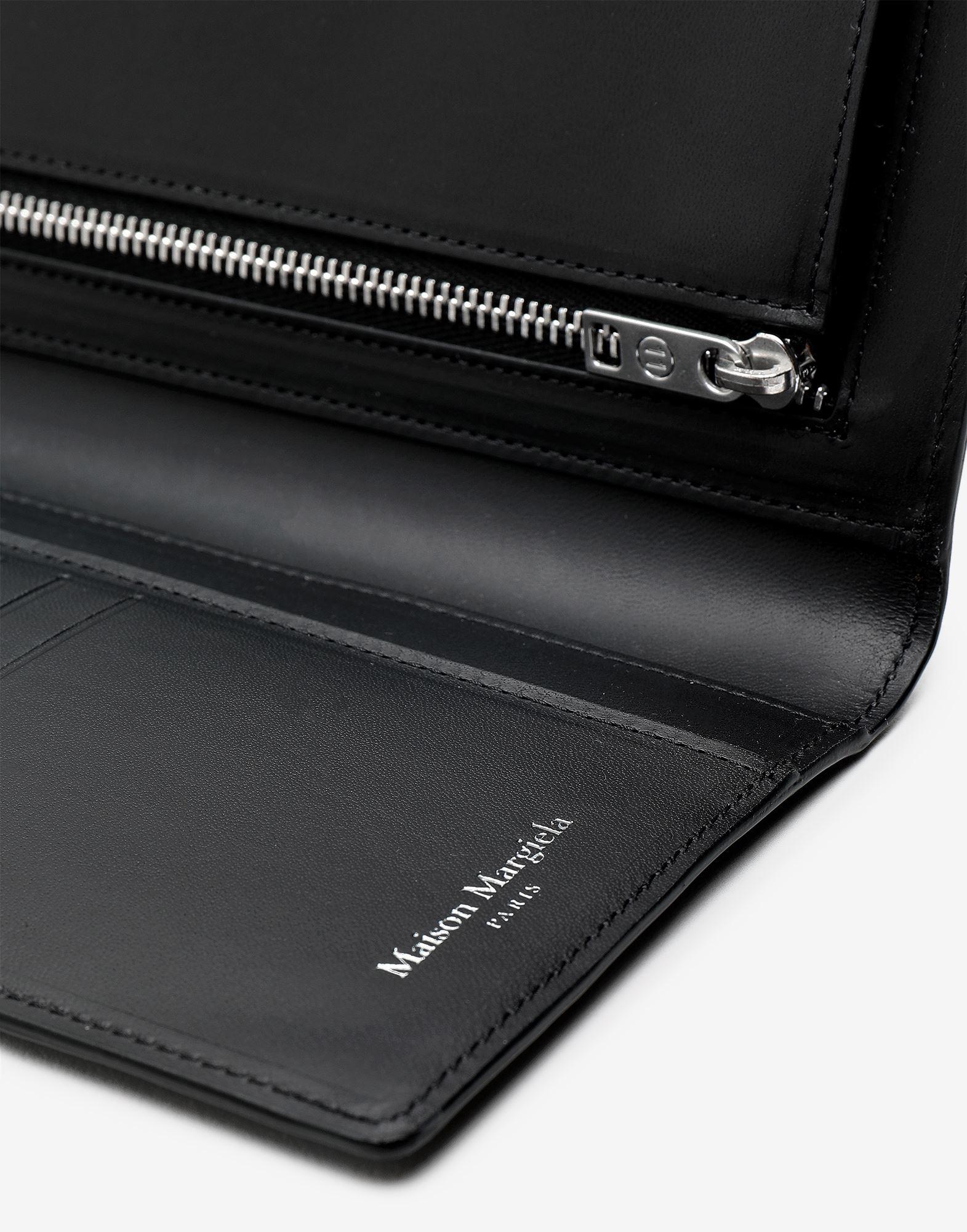 MAISON MARGIELA Klappbare Brieftasche aus Kalbsleder Portemonnaie Herr a