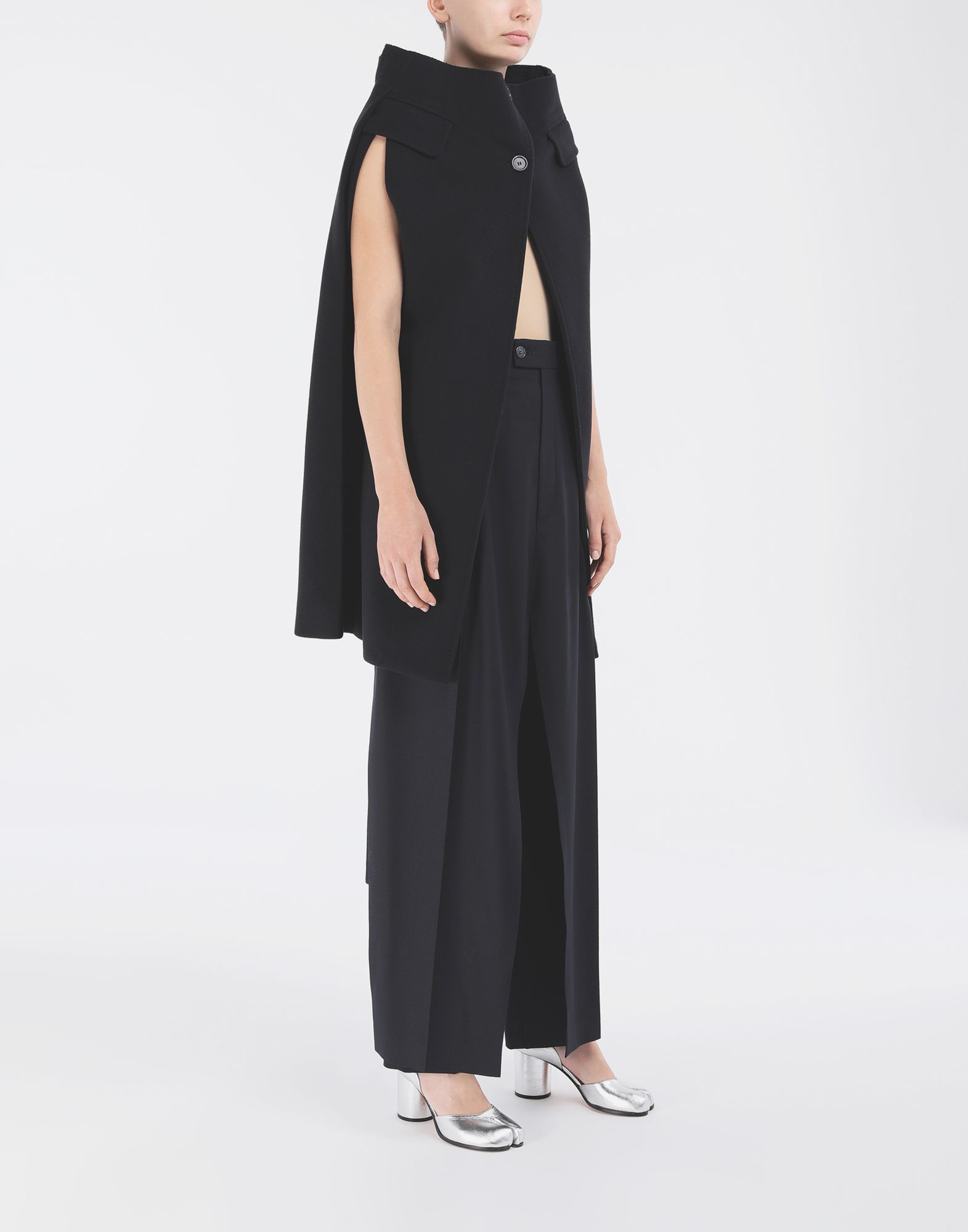 MAISON MARGIELA Spliced tailored bermuda Stole Woman d