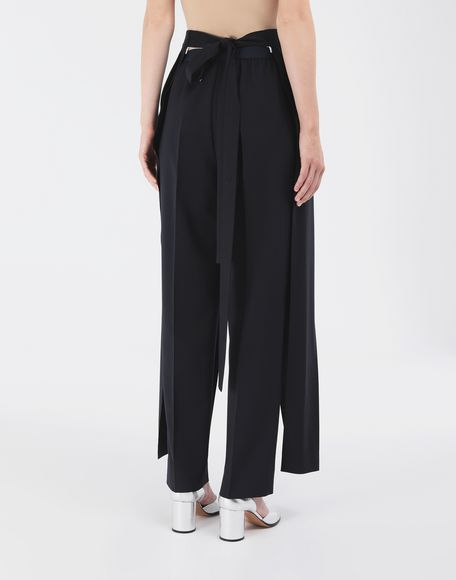 MAISON MARGIELA Spliced tailored bermuda Stole Woman e