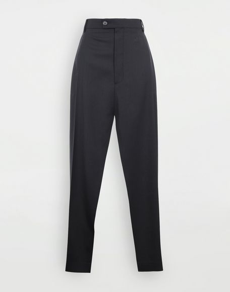 MAISON MARGIELA Spliced tailored bermuda Stole Woman f