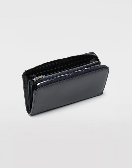 MAISON MARGIELA Zip-around leather wallet Wallet Man d