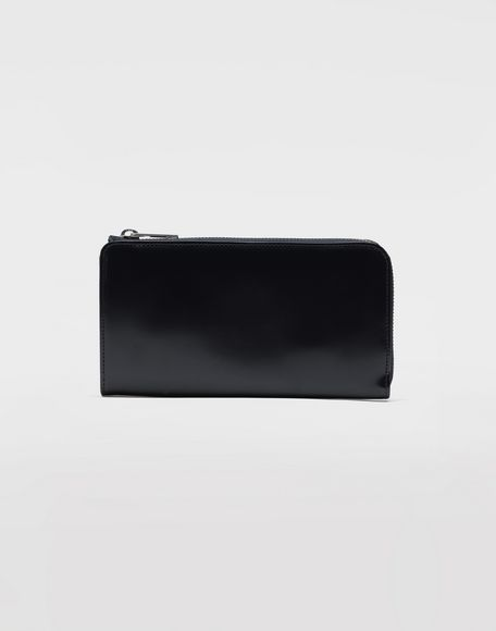 MAISON MARGIELA Zip-around leather wallet Wallets Man f