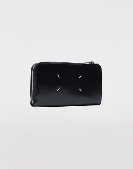MAISON MARGIELA Zip-around leather wallet Wallet Man r