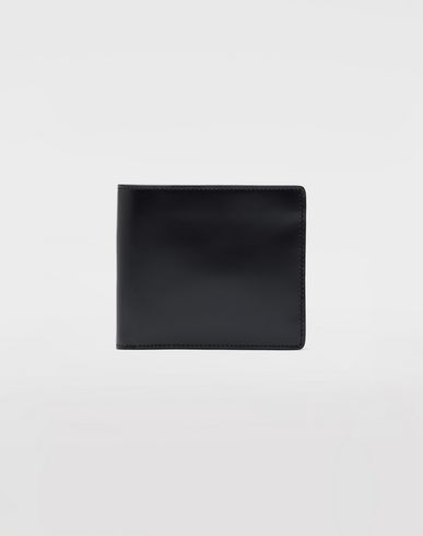 ACCESSORIES Folded calfskin wallet  Blue