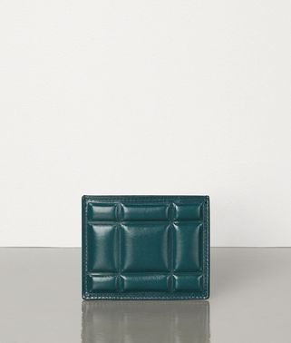 CARD CASE IN PADDED PAPER CALFSKIN