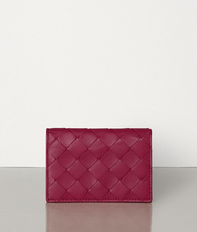 BOTTEGA VENETA CARD CASE IN MAXI INTRECCIO Card Case E fp