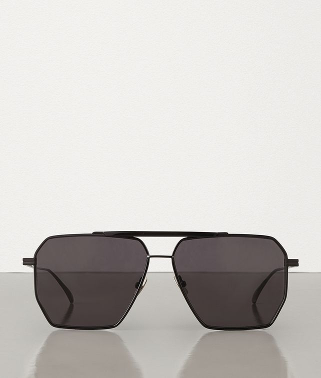 BOTTEGA VENETA SUNGLASSES IN METAL Sunglasses Man fp