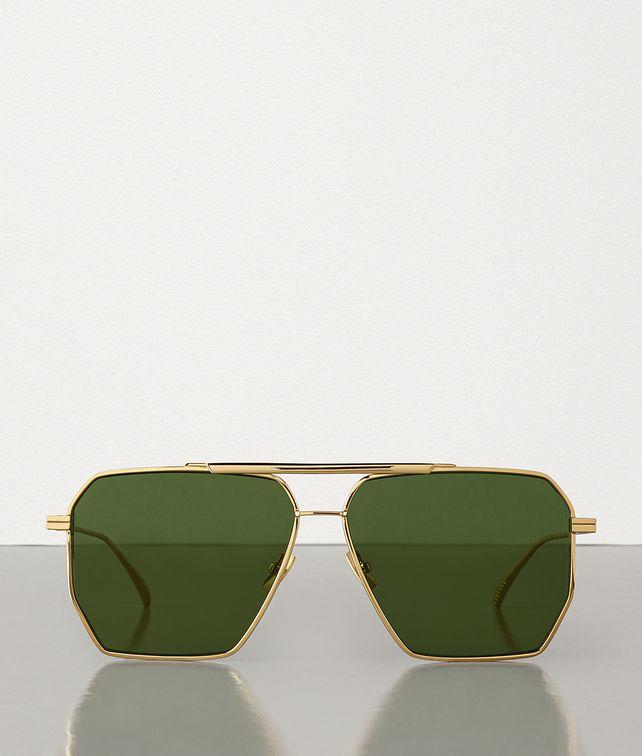 BOTTEGA VENETA SUNGLASSES IN METAL Sunglasses Man fp