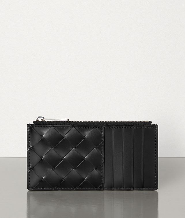 BOTTEGA VENETA CARD CASE IN INTRECCIATO SPAZZOLATO CALF Card Case Man fp