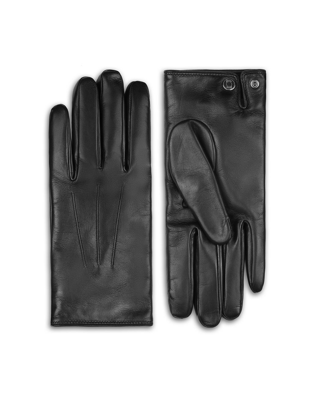BRIONI Black Gloves Hats & Gloves Man f