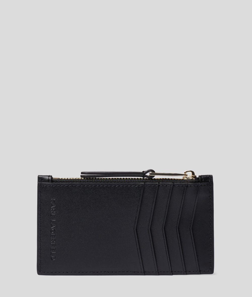 KARL LAGERFELD K/Signature Card Holder Porte-cartes Femme d
