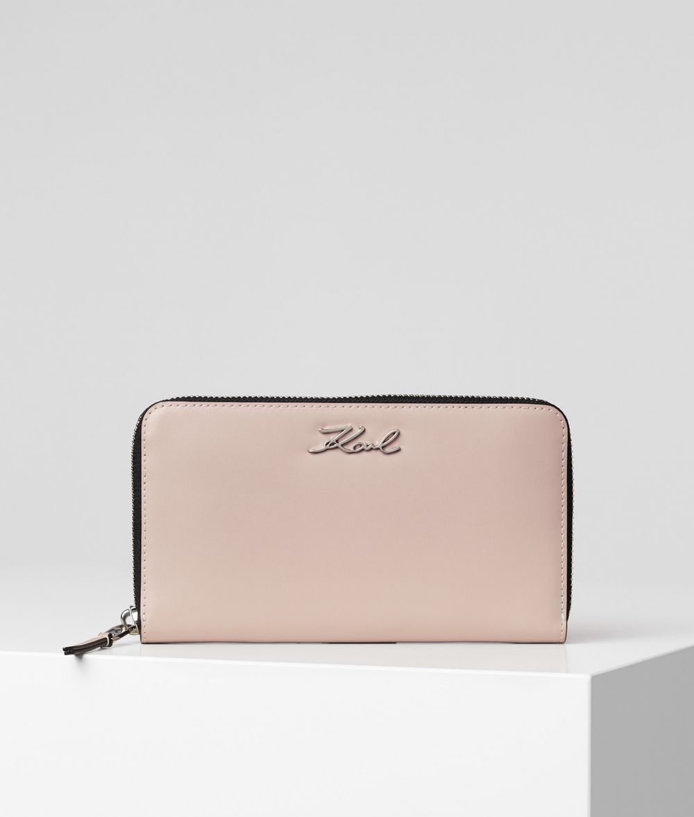 KARL LAGERFELD K/Signature Wallet Wallet Woman f