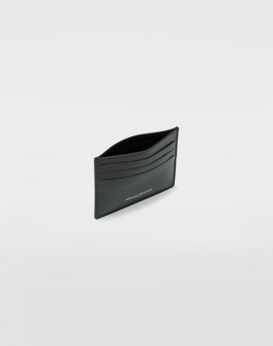 ACCESSORIES Calfskin card-holder Dark green