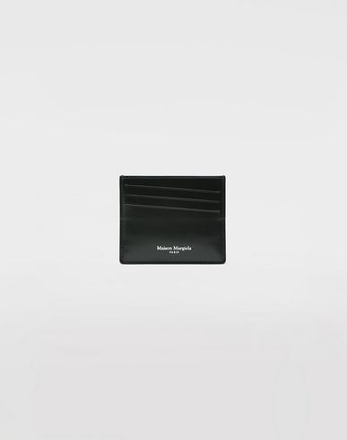 Small Leather Goods  Calfskin card-holder Dark green