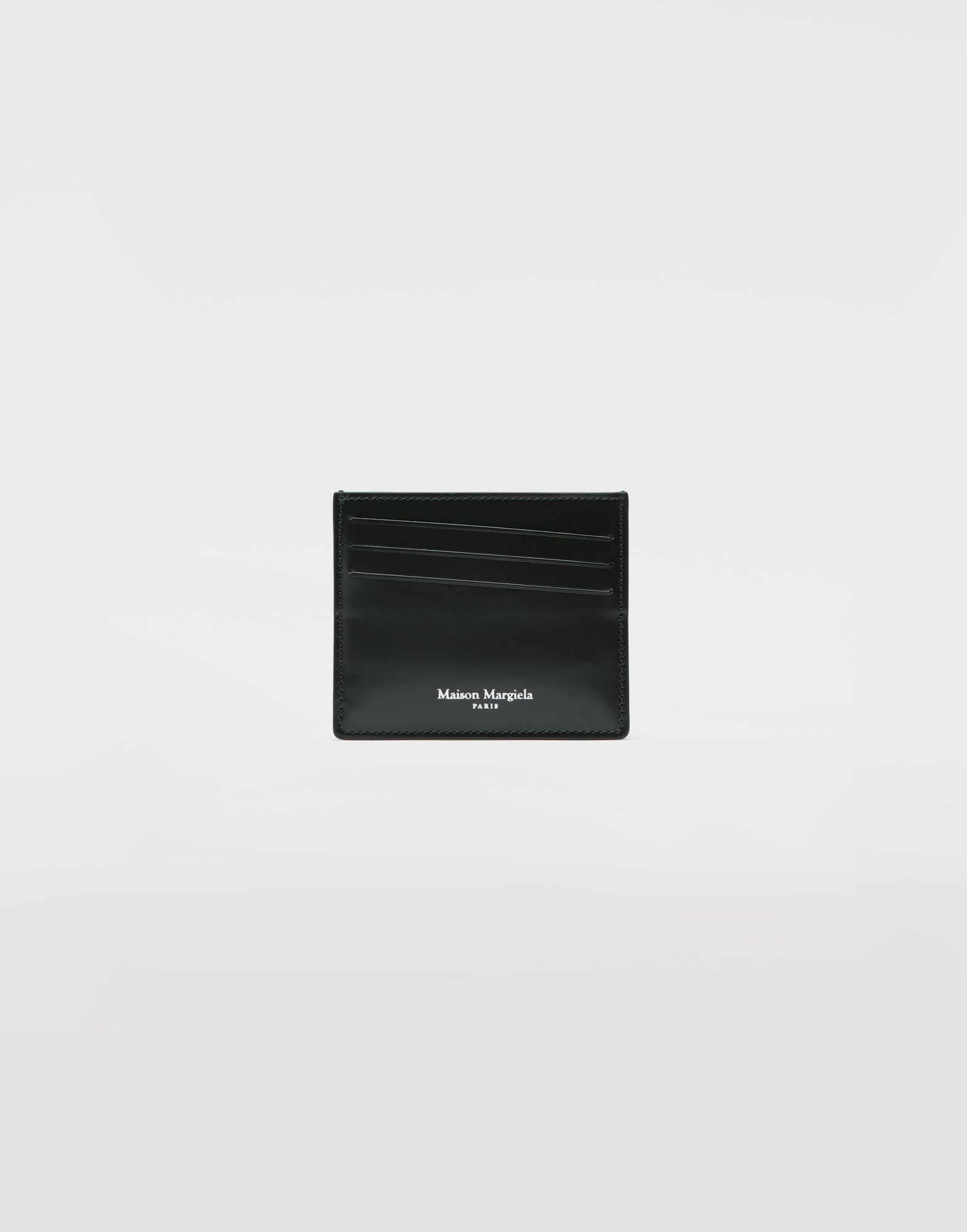 MAISON MARGIELA Calfskin card-holder Wallets Man f