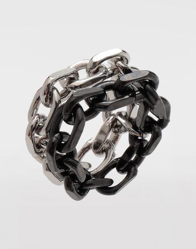 JEWELRY  Chain ring Silver