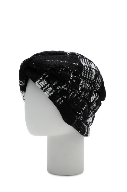 MISSONI Turbante Nero Donna - Fronte