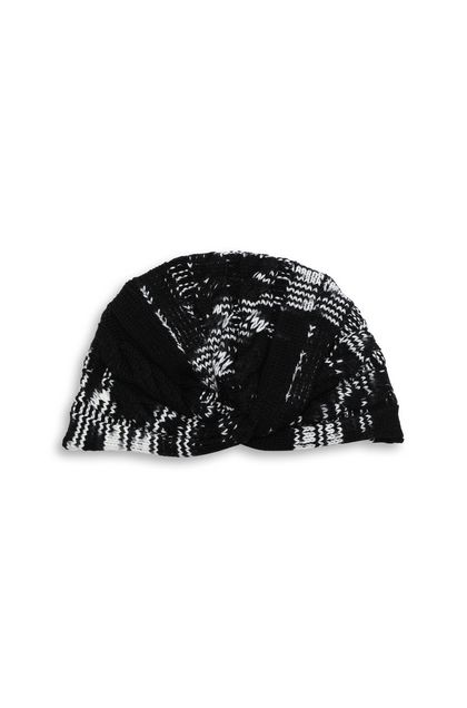 MISSONI Turban Black Woman - Back