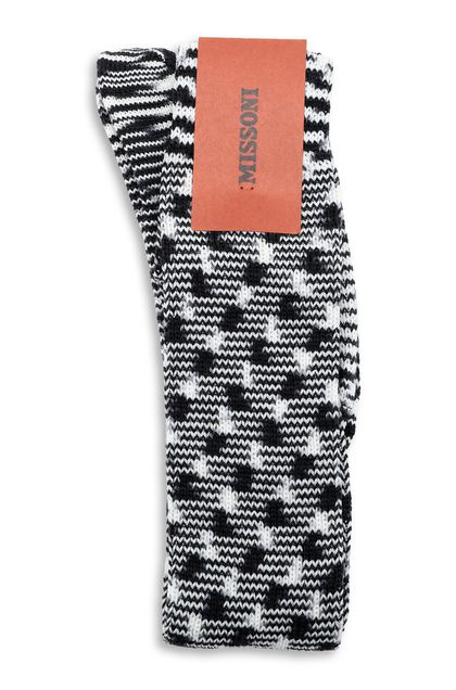 MISSONI Long socks Black Woman - Front