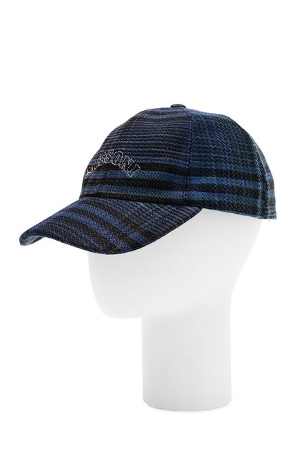 MISSONI Hat Slate blue Man - Front