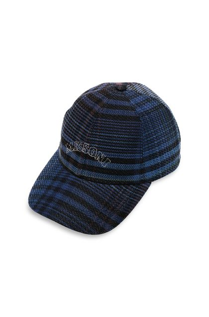 MISSONI Hat Slate blue Man - Back
