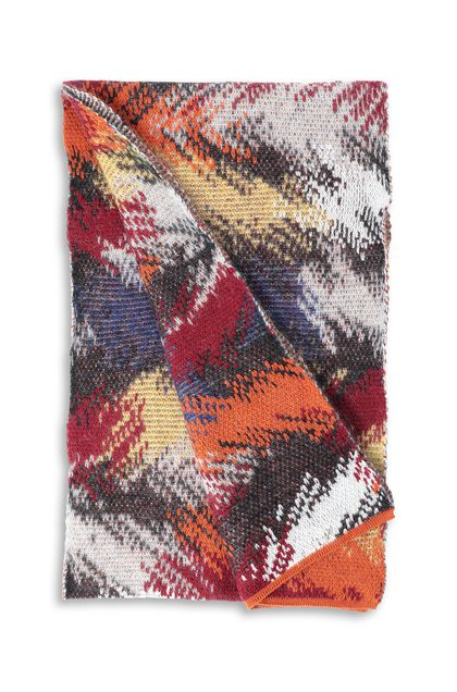 MISSONI Scarf Maroon Woman - Front