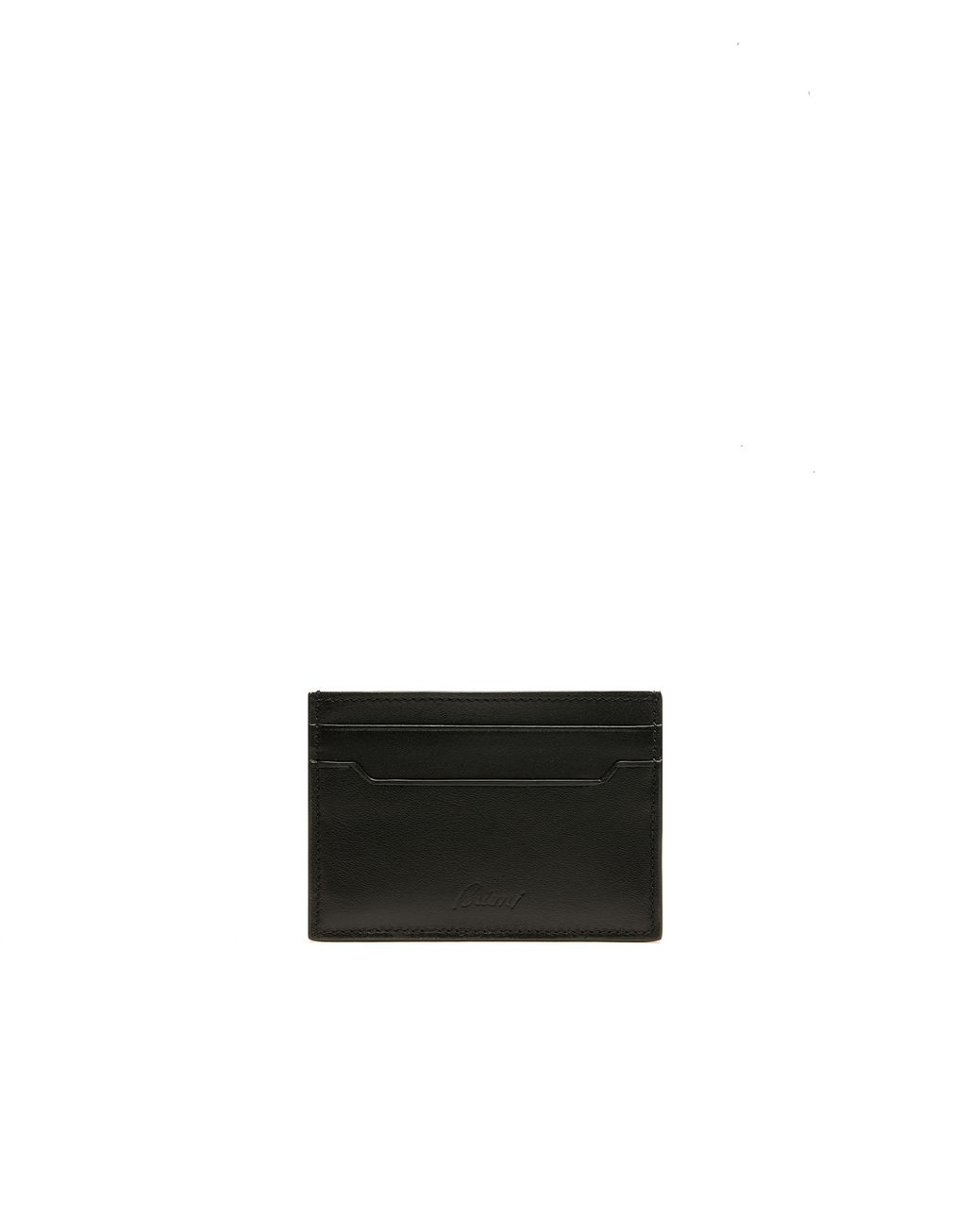 BRIONI Black Cocktail Wallet Leather Goods Man f