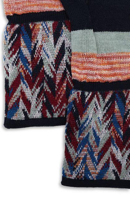 MISSONI Gloves Dark blue Woman - Front