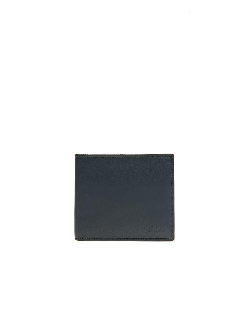 BRIONI Чёрный Бумажник Кожаное изделие Для Мужчин f
