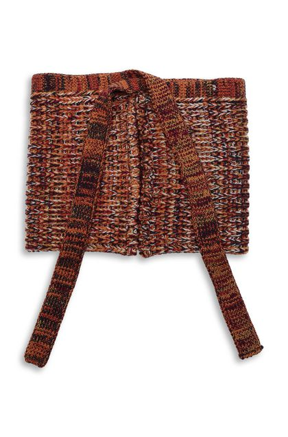 MISSONI Collar Brick red Woman - Front