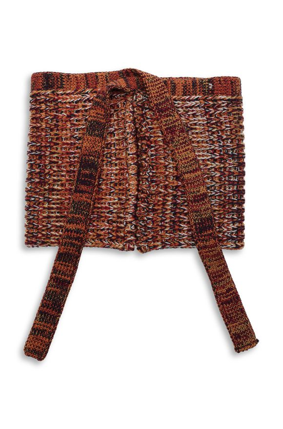 MISSONI Collar Woman, Rear view