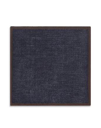 Синий Трикотажный Платок-Паше