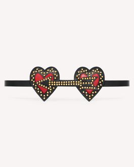 REDValentino Headband Woman SQ0J0B60ZFE 0NO a