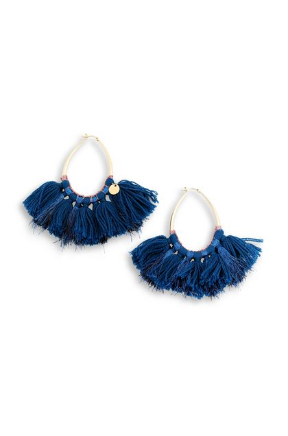 MISSONI Earrings Blue Woman - Back
