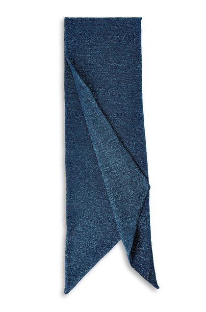 MISSONI Scarf Bright blue Man - Front