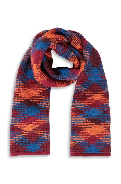 MISSONI Scarf Maroon Man - Back