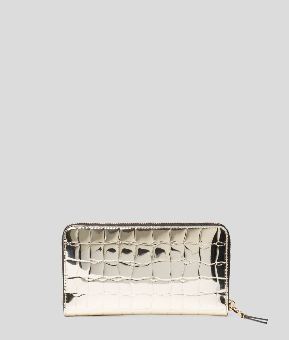 KARL LAGERFELD K/Signature Zipped Wallet Wallet Woman d