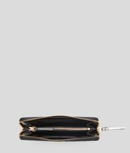 KARL LAGERFELD K/Signature Zipped Wallet 9_f