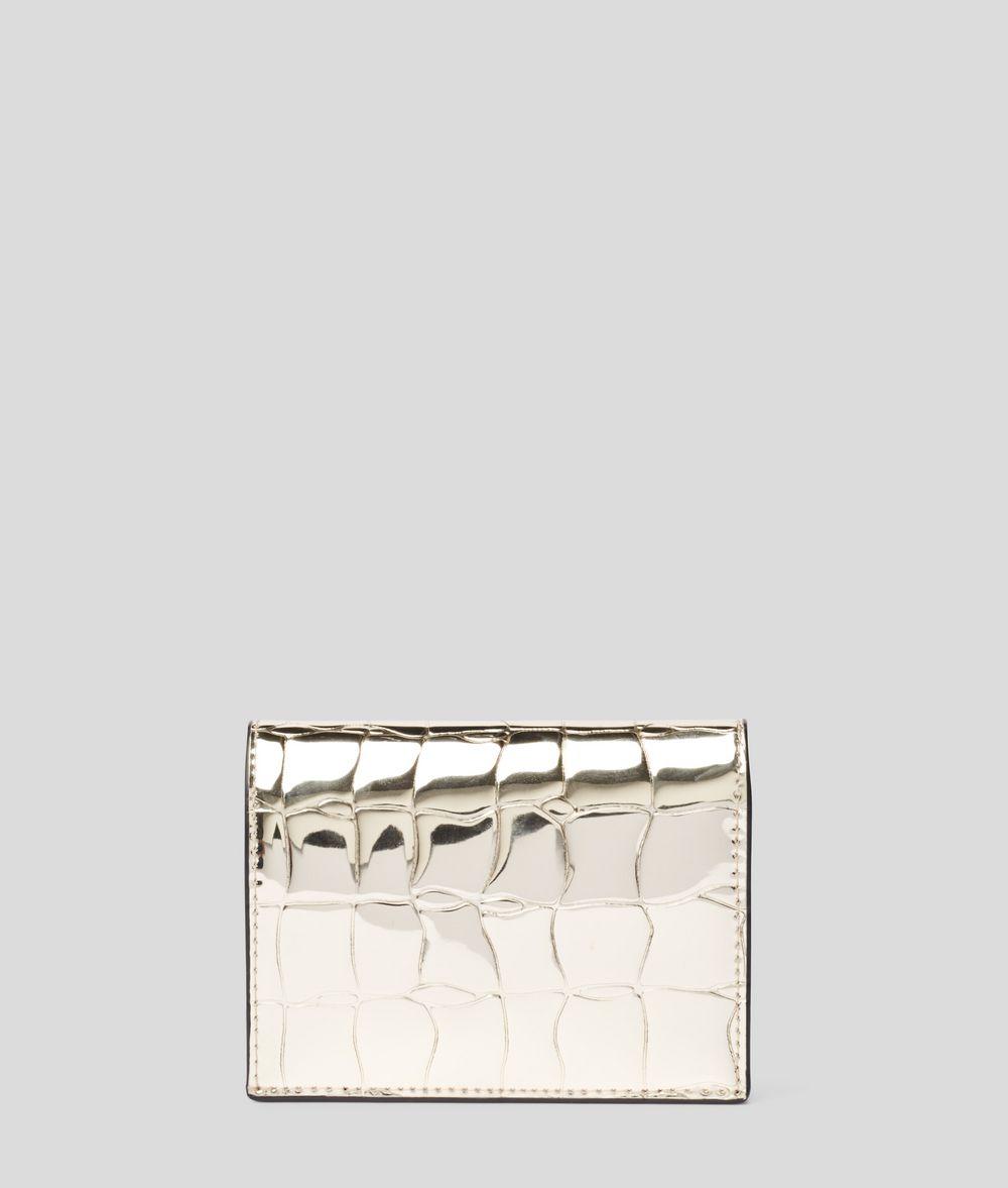 KARL LAGERFELD K/Signature Fold Wallet Wallet Woman d