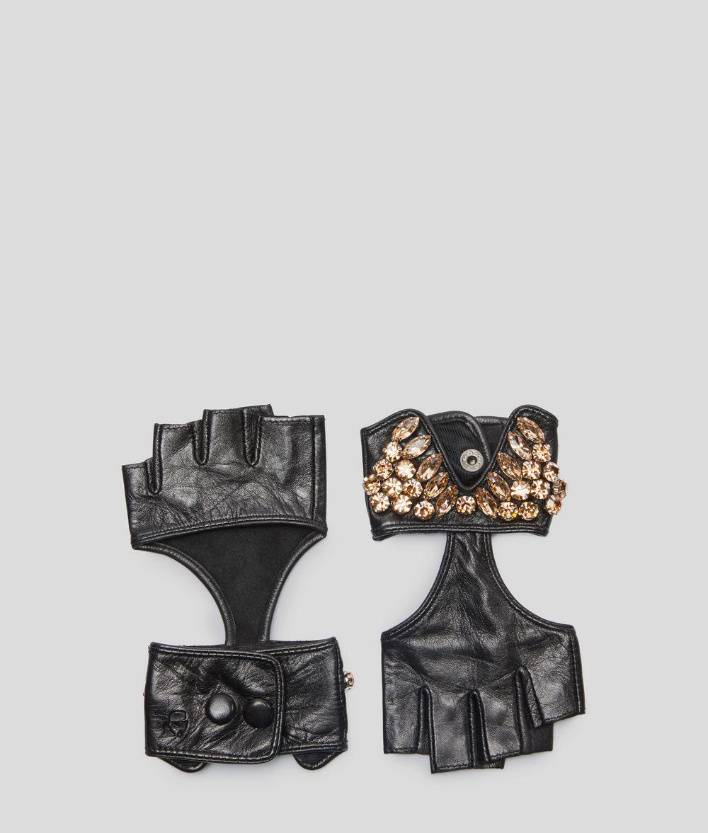 KARL LAGERFELD Митенки K/Party Перчатки Для Женщин d